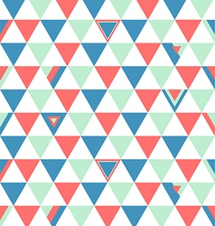 Switzerland Top Colors Background Triangle Polygon vector image vector image