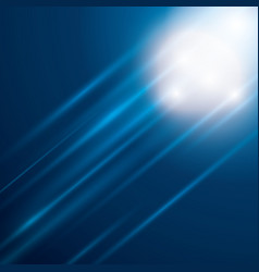 Blue bright background vector