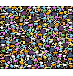 licorice vector image vector image