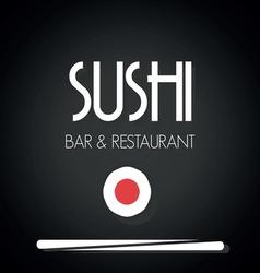 Sushi menu2 vector