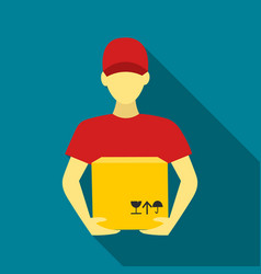 Courier icon of for web and vector