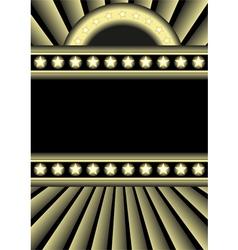 dark background vector image