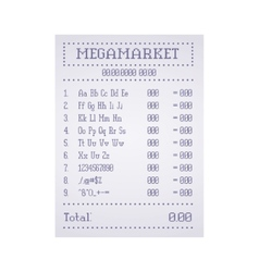 Check out the supermarket template vector