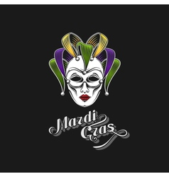 Mardi gras or shrove tuesday carnival mask vector