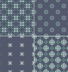 Dark pattern set vector