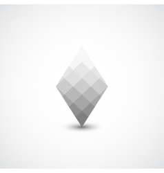 Abstract geometric icon vector