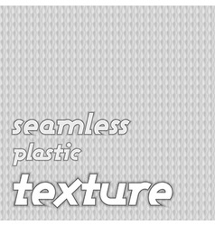 seamless plastic texture gray vector image vector image