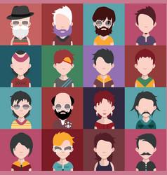 Set of avatars b vector