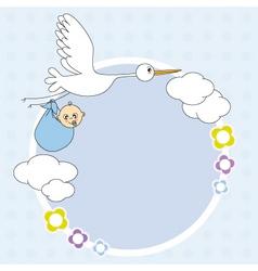 stork framework vector image