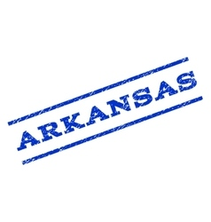 Arkansas Watermark Stamp vector image vector image