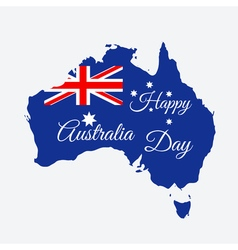 Happy Australia day vector image