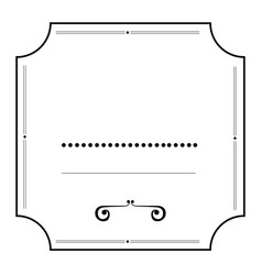 Isolated empty label vector