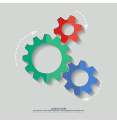 Mechanism flat vector