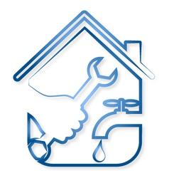Repair plumbing vector