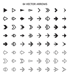 Isolated arrows set undo and previous buttons vector