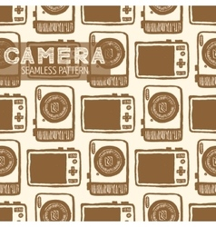 Pocket-size digital camera vector