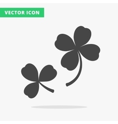 clover silhouettes sign vector image