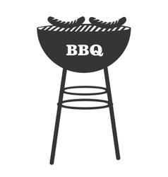 Bbq grill theme design icon vector