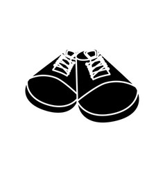 fashion shoes footwear vector image vector image