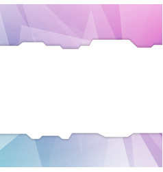 Futuristic abstract geometrical minimalistic web vector