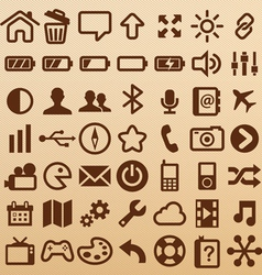 MobileSymbols vector image vector image