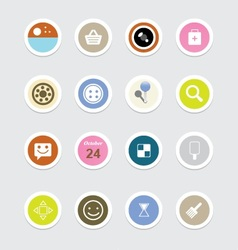 Web icons 38 vector