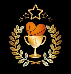 Basketball championship vector