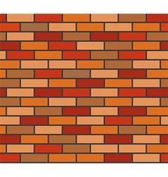 Brick wall seamless texture vector