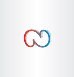 N letter n logo icon vector