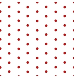 Polka dot seamless pattern background vector image vector image
