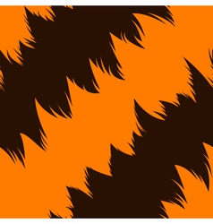 Tiger stripe skin vector