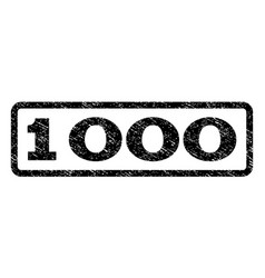 1000 watermark stamp vector