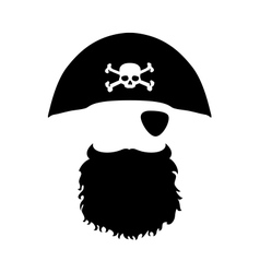 Pirate Head vector image