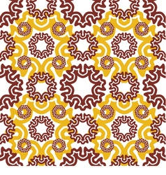 Seamless wallpaper motley retro repeating pattern vector