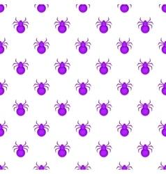 Bug pattern cartoon style vector