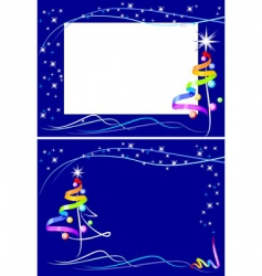 new year raindow vector image vector image