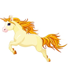 Running unicorn vector