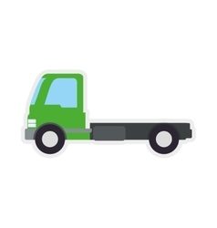 Truck transportation delivery shipping icon vector