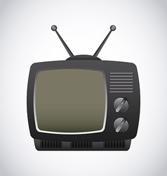 Television screen vector