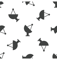 Satellite dish pattern vector