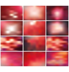 Abstract blurred backgroundsred vector