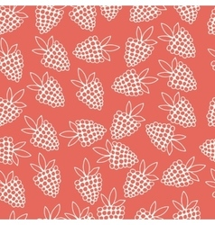 Pattern of berries vector