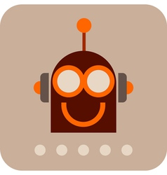 Robot icon 5 vector