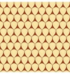 Triangle geometric seamless pattern vector
