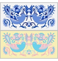 Original oriental decorative ethnic bird with vector