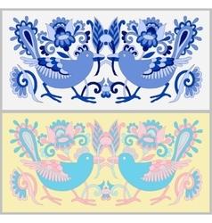 original oriental decorative ethnic bird with vector image vector image