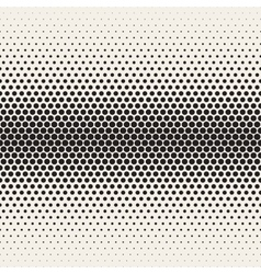 Seamless black and white halftone gradient vector