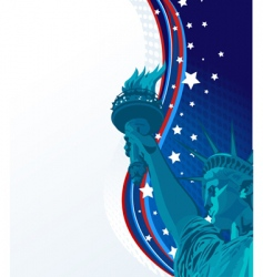 freedom vector image