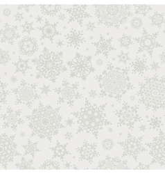 Christmas snowflakes seamless background eps 10 vector