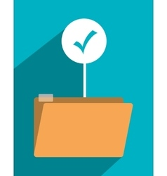 file archive icon symbol design vector image